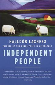 Cover of: Independent people by Halldór Laxness