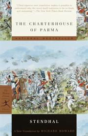 Cover of: The charterhouse of Parma by Stendhal