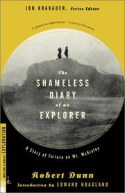 The shameless diary of an explorer by Dunn, Robert