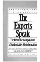 The Experts speak by Christopher Cerf, Victor S. Navasky