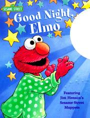 Good night, Elmo by Stephanie St. Pierre
