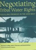 Negotiating tribal water rights PDF