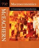Macroeconomics by William A. McEachern