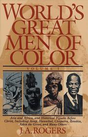 World's great men of color PDF