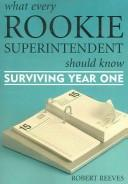 What every rookie superintendent should know PDF