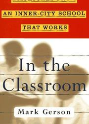 In the Classroom by Mark Gerson