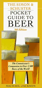 The Simon & Schuster pocket guide to beer by Jackson, Michael