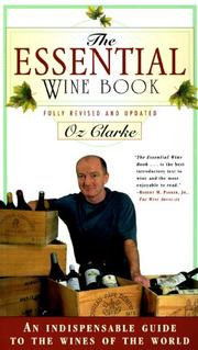 The essential wine book by Oz Clarke, Oz Clarke