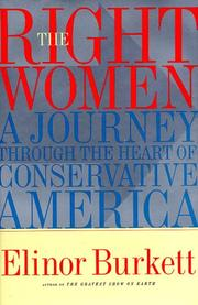 Cover of: The right women by Elinor Burkett