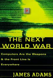 The next world war by Adams, James