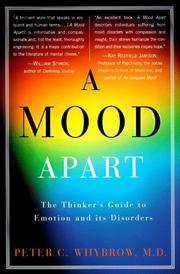 A mood apart by Peter C. Whybrow