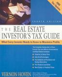 The real estate investor&#39;s tax guide by Vernon Hoven