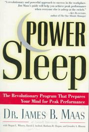 Power sleep by James B. Maas