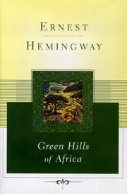 Green hills of Africa PDF