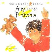Christopher Bear's Anytime Prayers PDF