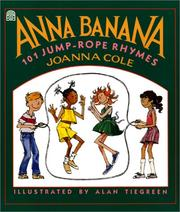 Anna Banana by Joanna Cole
