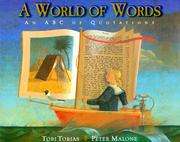 A World of Words by Tobi Tobias