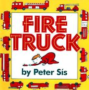 Fire truck by Peter Sís