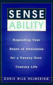 Sense ability by Doris Wild Helmering