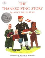The Thanksgiving story by Alice Dalgliesh