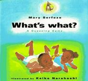 What's what? a guessing game PDF