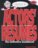 Actors resumes PDF