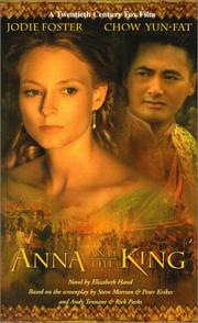 Anna and The King by Elizabeth Hand