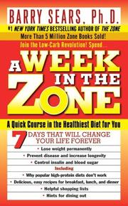 A week in the zone by Barry Sears