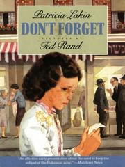 Don&#39;t Forget by Patricia Lakin