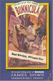 Bud Barkin, Private Eye (Tales from the House of Bunnicula) PDF