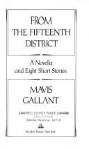 From the Fifteenth District PDF