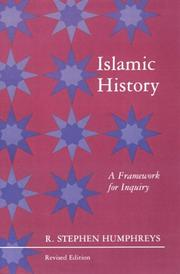 Islamic history by R. Stephen Humphreys