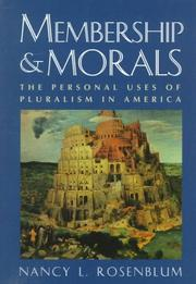 Membership and Morals PDF
