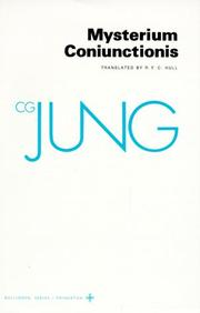 Cover of: Mysterium coniunctionis by Carl Gustav Jung