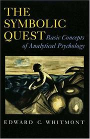 Cover of: The Symbolic Quest by Edward C. Whitmont