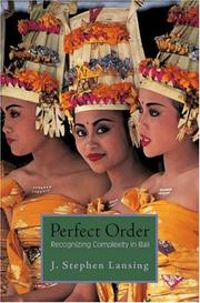 Perfect order by John Stephen Lansing