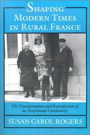 Shaping modern times in rural France PDF