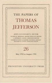 Cover of: The Papers of Thomas Jefferson by Thomas Jefferson
