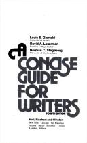 A concise guide for writers PDF