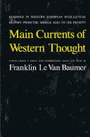 Main currents of Western thought PDF