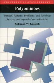 Polyominoes by Solomon W. Golomb