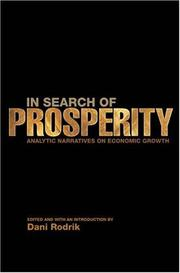 In Search of Prosperity PDF