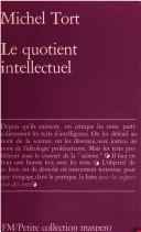 Le quotient intellectuel by Michel Tort