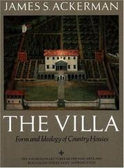 The Villa by James S. Ackerman