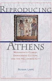 Reproducing Athens by Susan Lape