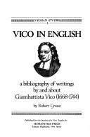 Vico in English by Robert Crease