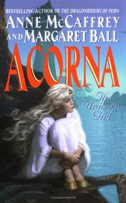 Acorna by Anne McCaffrey, Ball, Margaret