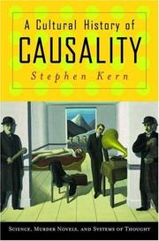 A cultural history of causality by Stephen Kern
