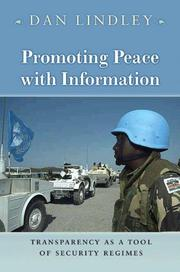 Promoting Peace with Information PDF