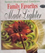 Family favorites made lighter by 